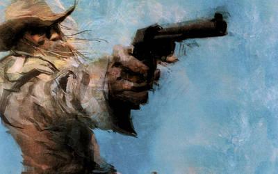 Revolver Ocelot by Ashley Wood by Lootskin