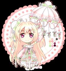 Umbrella Puff Adopt #1 [CLOSED] by Miyuberry