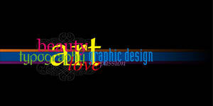 Typography Love by buzveatesh