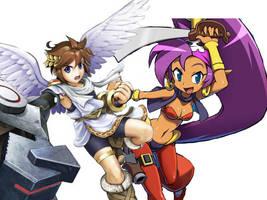 Shantae Icarus by kirbymlp