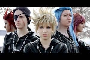 KH2: Five by chibinis-chan