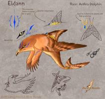 Eldann refsheet by AlviaAlcedo