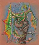 Tropical crystal dragon by AlviaAlcedo