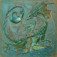 Water dragon by AlviaAlcedo