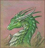 Kalen the dragon by AlviaAlcedo