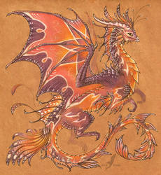 Fairy dragon by AlviaAlcedo