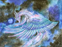 Space traveler by AlviaAlcedo