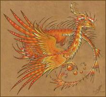 Sunny dragon by AlviaAlcedo