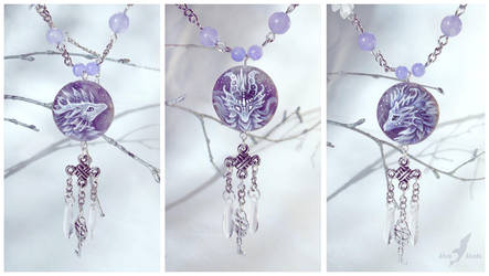 Purple fairy tales - dragons + for sale + by AlviaAlcedo