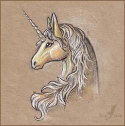 Sunny unicorn by AlviaAlcedo