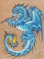 Silver flute of winter by AlviaAlcedo