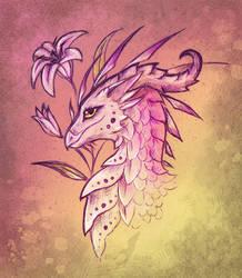 Lily dragon - design by AlviaAlcedo