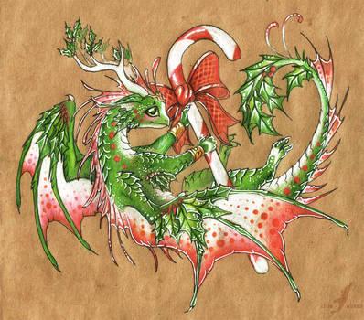 New Year dragon by AlviaAlcedo