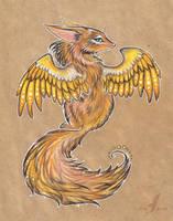 Golden wings by AlviaAlcedo