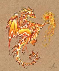 Fire dancer by AlviaAlcedo
