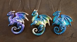 Gem dragons by AlviaAlcedo