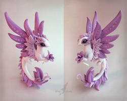 Orchid dragon by AlviaAlcedo