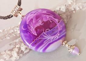 Tropical night dragon - Ebay auction by AlviaAlcedo