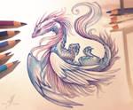 Air dragon by AlviaAlcedo