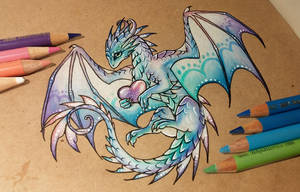 Magic love dragon by AlviaAlcedo