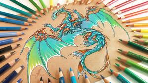 Copper wings DA by AlviaAlcedo