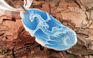 Dragon of blue sky [Ebay] by AlviaAlcedo