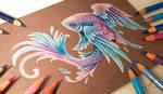 Flying fish by AlviaAlcedo