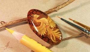 Sunnlight phoenix by AlviaAlcedo