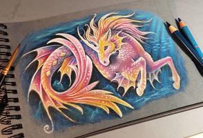 Water unicorn by AlviaAlcedo