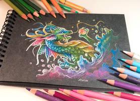 Splash of colors by AlviaAlcedo
