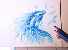 Sea dragon by AlviaAlcedo