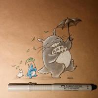 Totoro by AlviaAlcedo