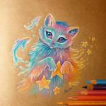 Cat's dreams by AlviaAlcedo