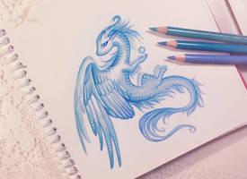 Air dragoness by AlviaAlcedo