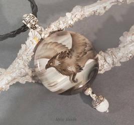 Gryphon pendant by AlviaAlcedo