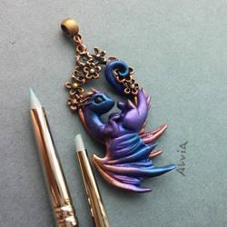 Little flower dragon by AlviaAlcedo