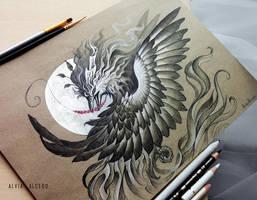 Shadow phoenix by AlviaAlcedo