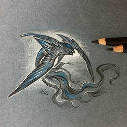 Wings of darkness by AlviaAlcedo