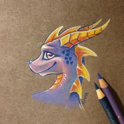 Spyro by AlviaAlcedo