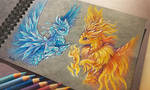 Fire and Ice by AlviaAlcedo