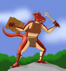 Kobold lvl 1 by Irish-John