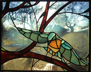 Bird on a Branch - Collab by Mysticalpchan