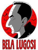 Bela Lugosi Caricature by JayFosgitt