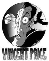 Vincent Price Caricature by JayFosgitt