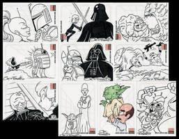 STAR WARS CARDS 2 by JayFosgitt