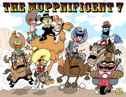 THE MUPPNIFICENT 7 by JayFosgitt