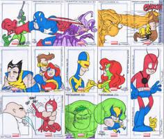 Marvel Universe Cards 2 by JayFosgitt
