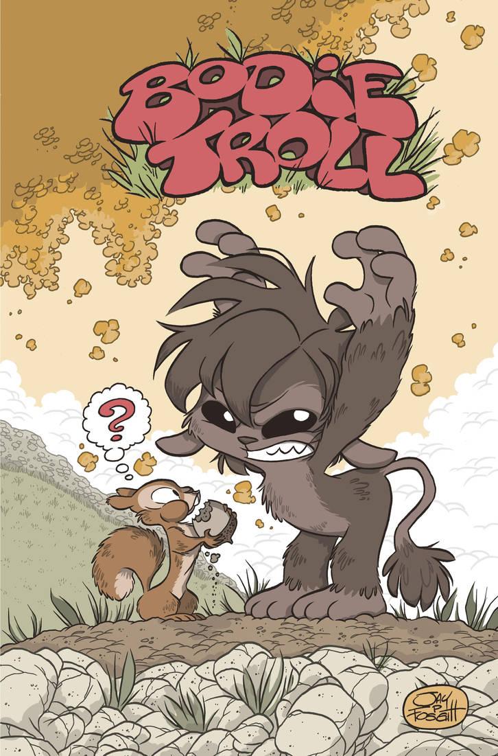 BODIE TROLL ISSUE 1 COVER by JayFosgitt