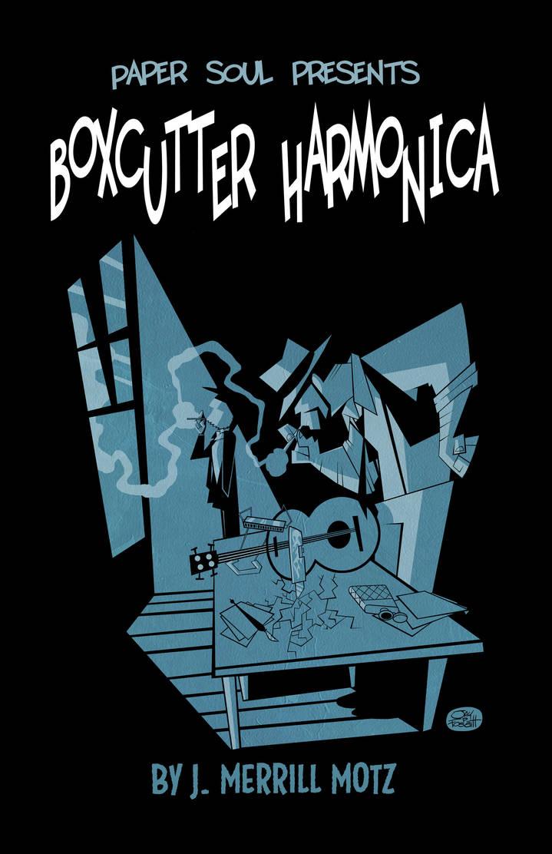 Boxcutter Harmonica by JayFosgitt