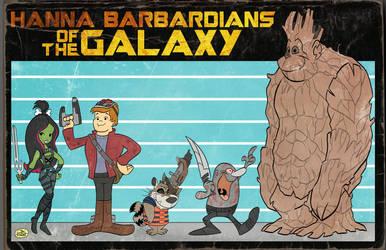 HANNA BARBARDIANS OF THE GALAXY by JayFosgitt